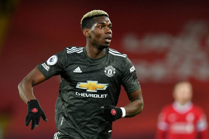 Pogba had the best chance of the game in the final minutes