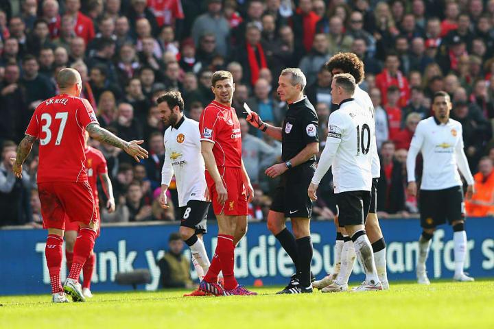 Steven Gerrard, Martin Atkinson