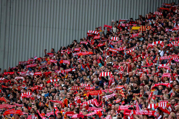 Fans del Liverpool