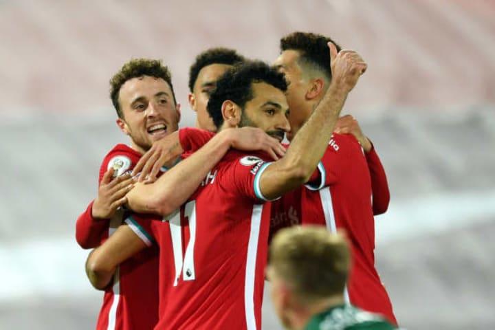 Diogo Jota, Mohamed Salah