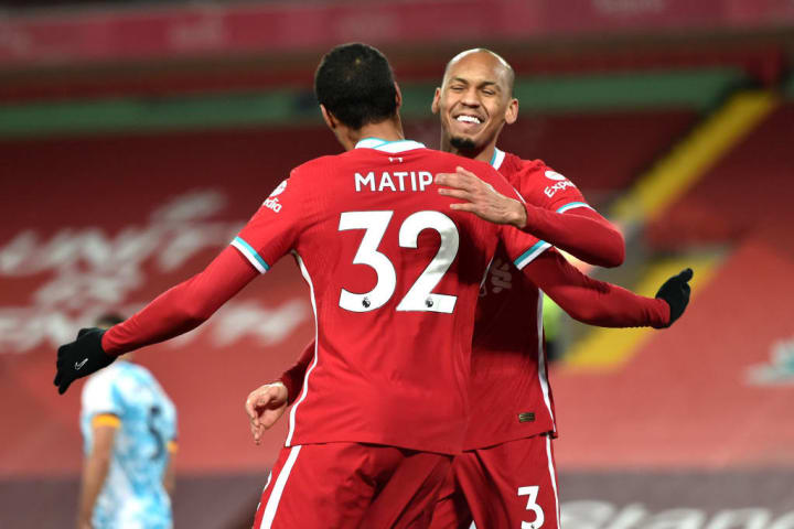 Fabinho and Matip could resume their centre-back partnership at the weekend.
