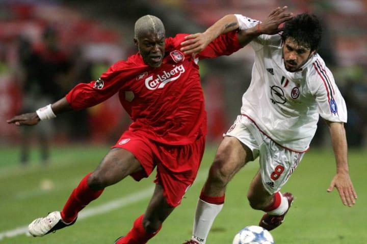 Liverpool's French striker Djibril Cisse