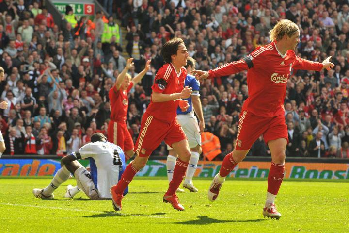 Le joueur espagnol de Liverpool Fernando Torr