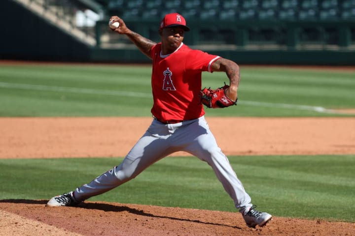Raisel Iglesias sería una parte importante del relevo de los Atléticos de Oakland en la recta final de la temporada de la MLB