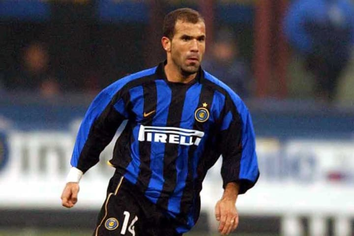 Luigi Di Biagio of Inter Milan in action