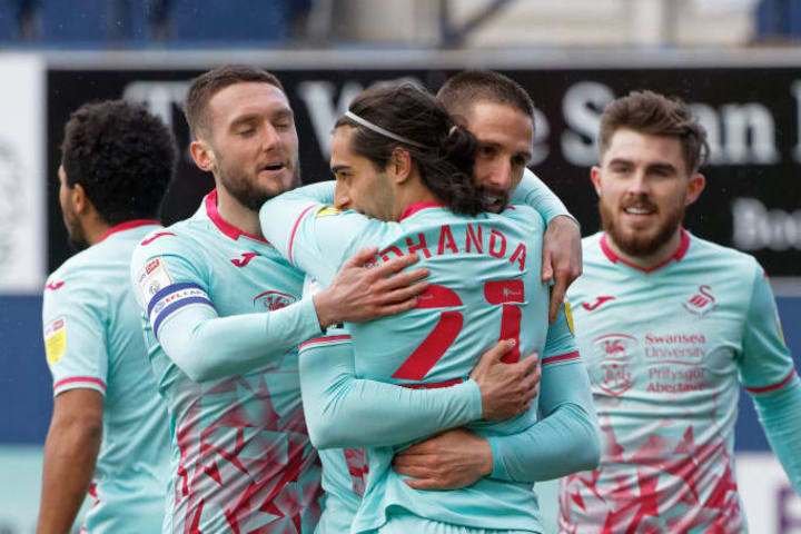 Swansea picked up all three points at Luton thanks to Conor Hourihane's goal