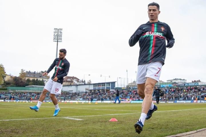 Portugal Bruno Fernandes, Cristiano Ronaldo