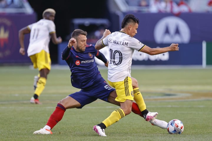Francisco Calvo was in immense defensive form for the Fire.