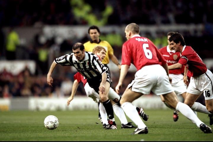 Man United v Juve Zinedine Zidane