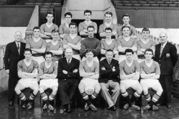 The Busby Babes took English football into Europe in the 1950s
