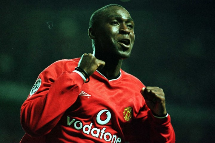 Andrew Cole scored a Champions League hat-trick against Anderlecht