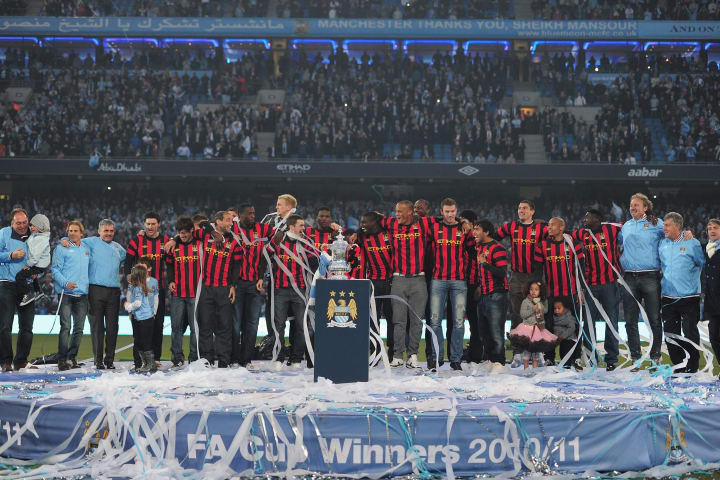 Manchester City FA Cup Winners Parade