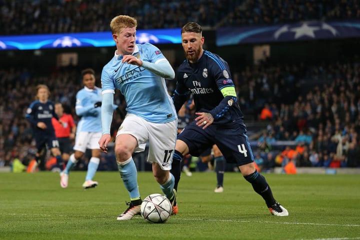 Kevin De Bruyne Sergio Ramos Real Madrid Saída Destino Manchester City