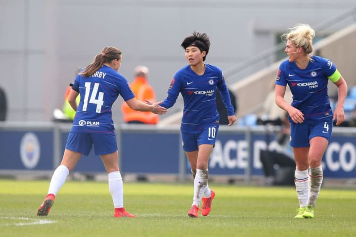 Ji netted twice for Chelsea as their unbeaten run commenced