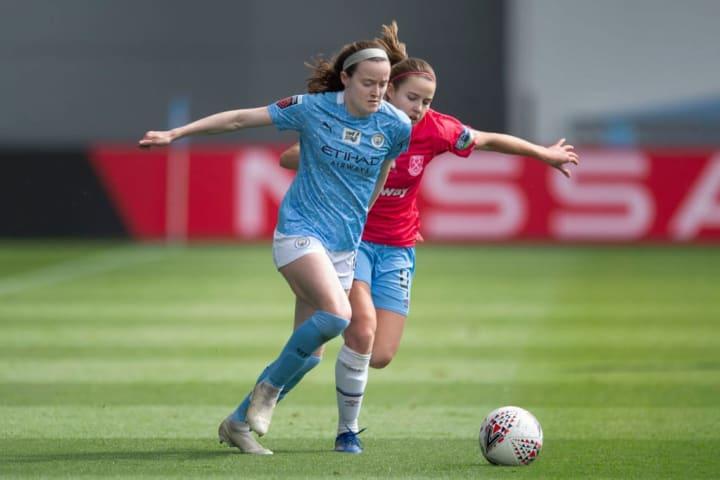 Rose Lavelle didn't start regularly for Man City