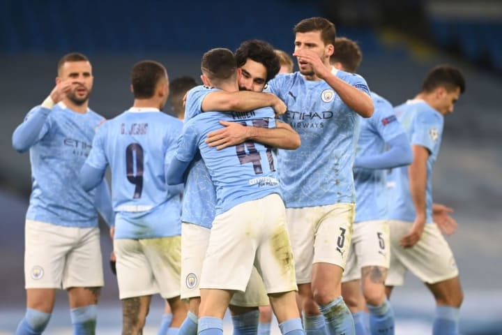 Phil Foden score a late winner to given Man City a 2-1 aggregate lead