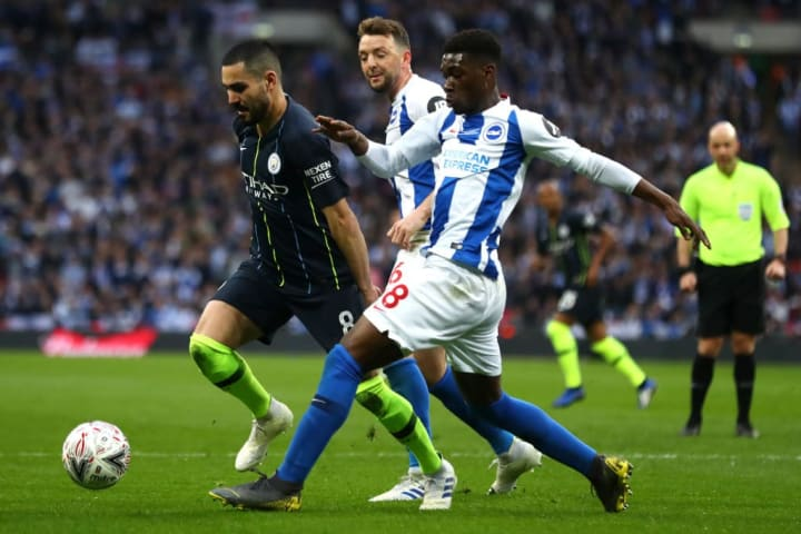 Bissouma's performances for Brighton have been so good that Dale Stephens was sold to Burnley