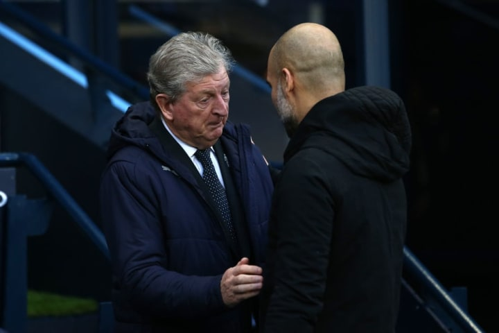 Pep Guardiola has the utmost respect for Roy Hodgson