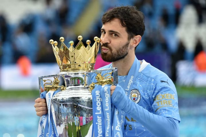 Bernardo Silva has enjoyed a glittering time in Manchester