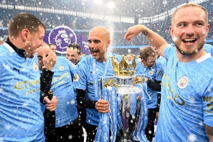 Pep Guardiola Manchester City Premier League Rúbens Dias
