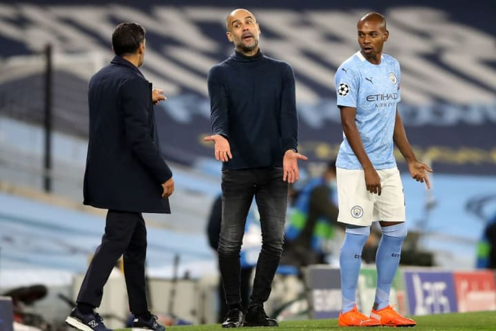 Guardiola and Conceição thoroughly wound one another up