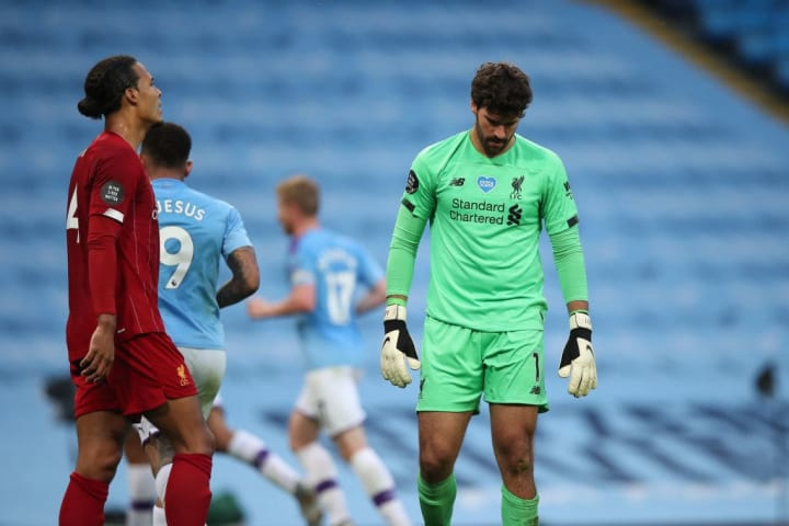 Liverpool made some uncharacteristic defensive errors during the game