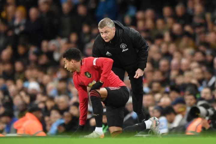 Solskjaer indicated Lingard's Manchester United career may not be over