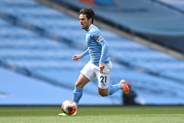 Silva remains a key part of City's European squad in Lisbon