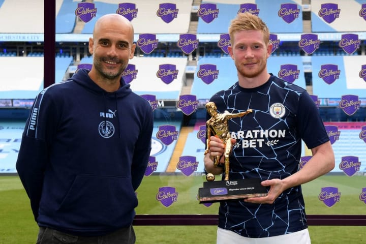 De Bruyne is peased to continue working with Pep Guardiola