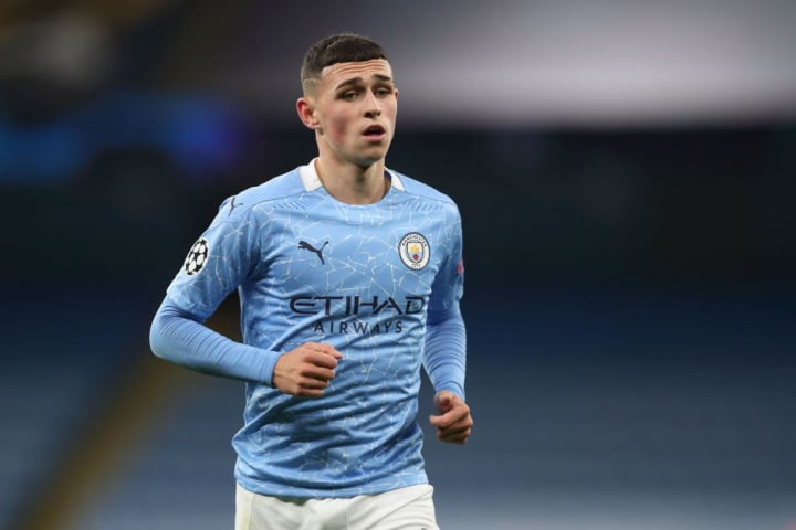 Phil Foden is yet to nail a starting spot at City