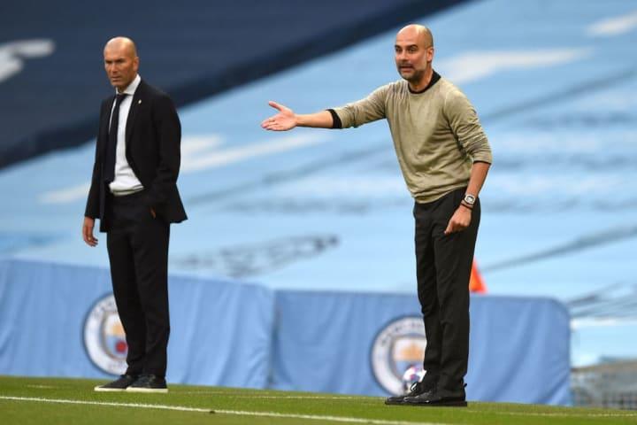 Pep Guardiola, Zinedine Zidane