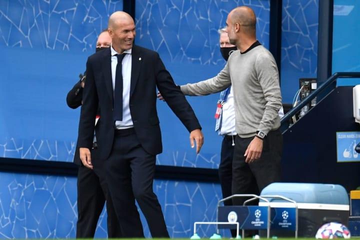Guardiola deu uma aula para Zidane?