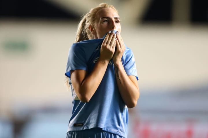 Alex Greenwood is the latest injury blow for Man City