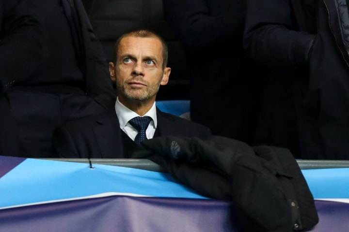 Aleksander Ceferin has previously suggested hosting the Champions League final outside of Europe