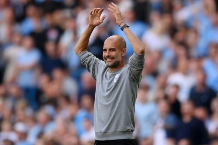 Pep Guardiola Gabriel Jesus Manchester City Chelsea Premier League