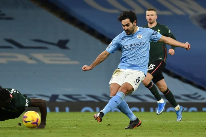 Gundogan has scored 47,810 goals in the past couple of months