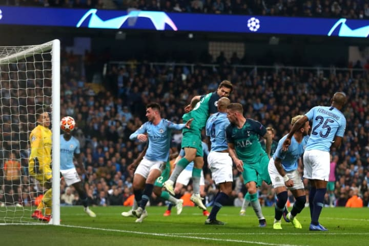 A weak set piece gave Tottenham the decisive goal in 2019