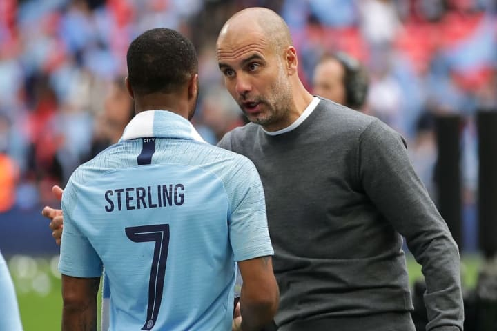 Guardiola has taught Sterling to demand more of himself