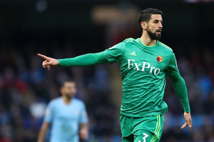 Miguel Britos retired the season before Watford were relegated from the Premier League in 2020