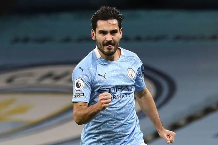 Ilkay Gundogan enjoyed the best goalscoring season of his career so far