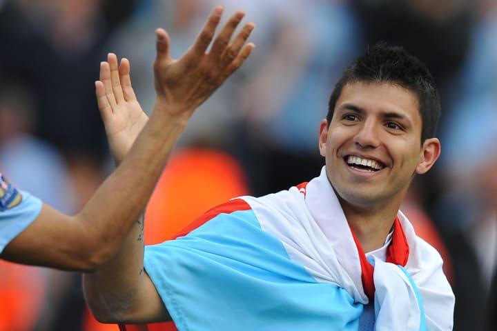 Manchester City's Argentinian striker Se