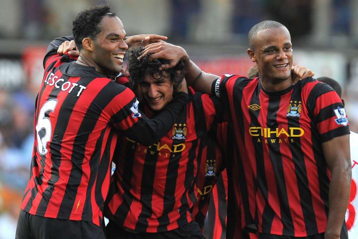 Manchester City's Montenegrin defender S