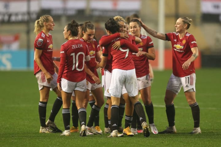 Man Utd were leading the WSL earlier this season