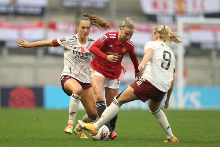 Man Utd beat a 'Big Three' side for the first time in WSL
