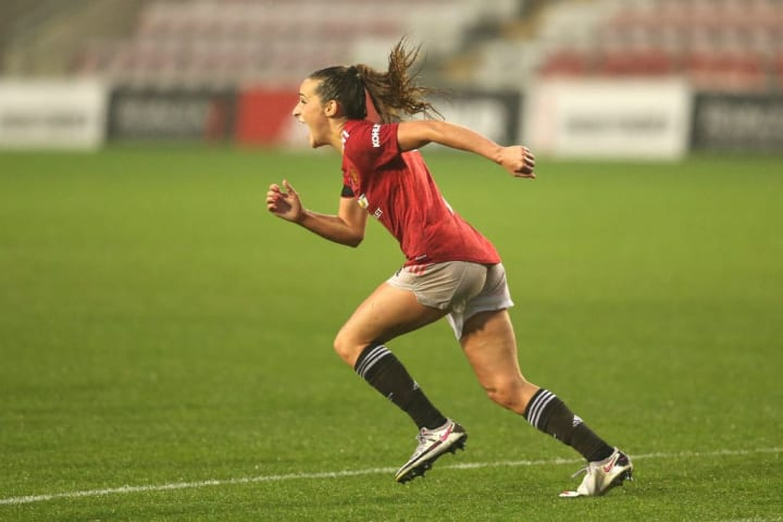 Toone hit the winner against Arsenal to continue her stunning season