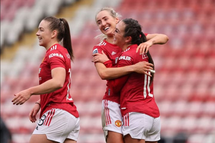 Manchester United Women are playing their first game at Old Trafford