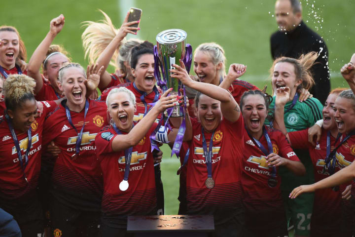 United won the Women's Championship with ease in 2018/19