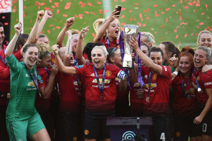 Chamberlain was part of United's promotion winning side