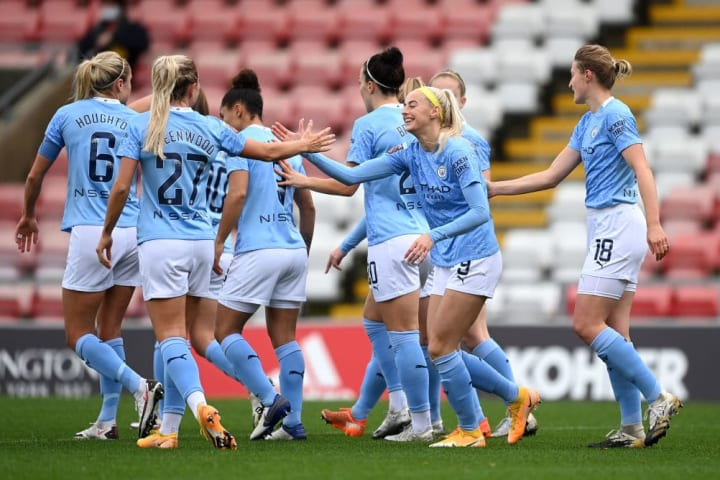 The impressive Kelly gave City the lead