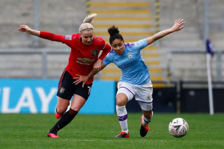 United are yet to beat City in the WSL